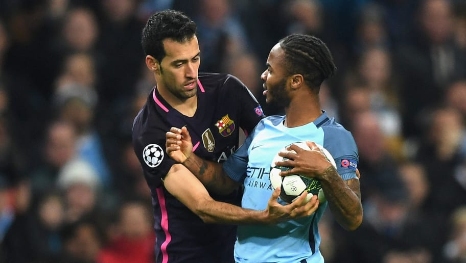 Comparing Lionel Messi & Raheem Sterling is 'Exaggerated', Claims Sergio Busquets