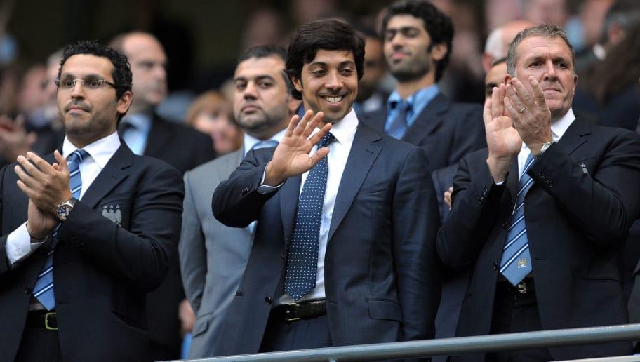 Manchester city owner Sheikh Mansour bin