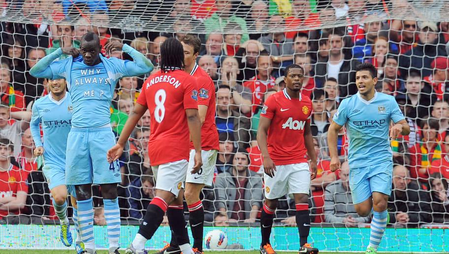 Manchester City's Italian striker Mario