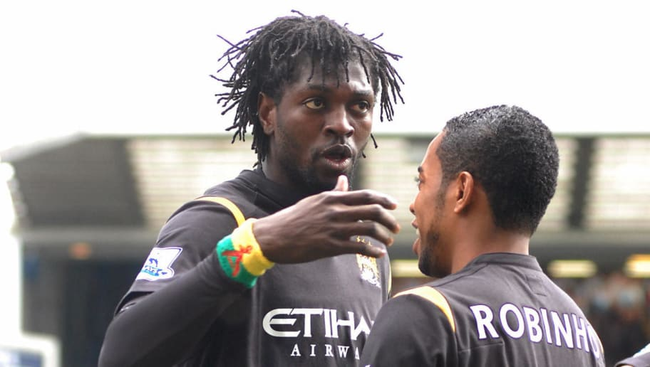Manchester City's Togolese striker Emman