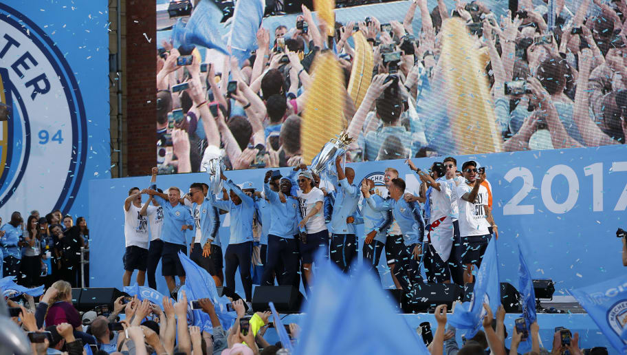Manchester City Trophy Parade