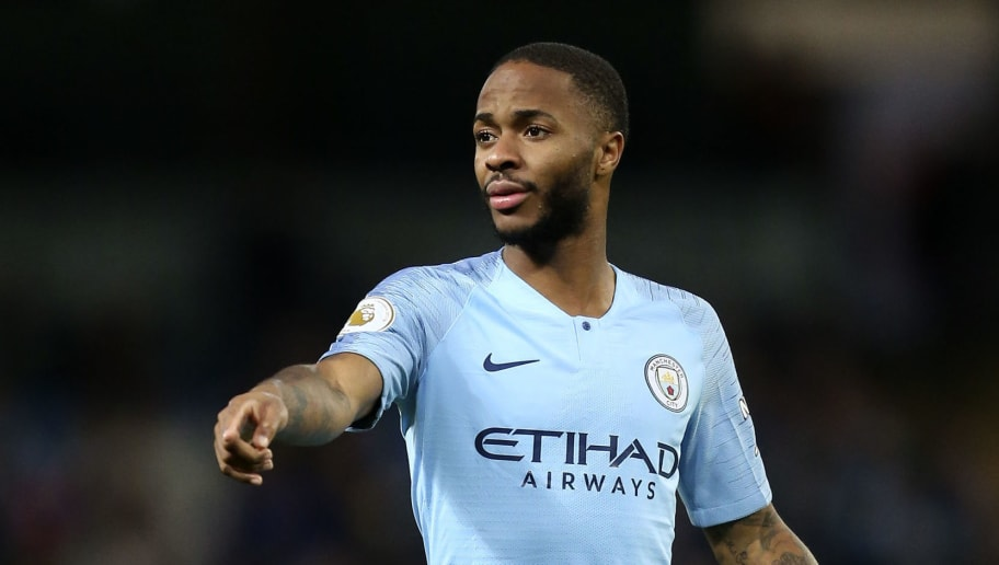 MANCHESTER, ENGLAND - DECEMBER 01: Raheem Sterling of Manchester City during the Premier League match between Manchester City and AFC Bournemouth at Etihad Stadium on December 1, 2018 in Manchester, United Kingdom. (Photo by James Baylis - AMA/Getty Images)