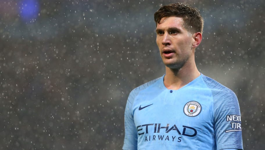 MANCHESTER, ENGLAND - DECEMBER 22: John Stones of Manchester City during the Premier League match between Manchester City and Crystal Palace at Etihad Stadium on December 22, 2018 in Manchester, United Kingdom. (Photo by Chloe Knott - Danehouse/Getty Images)