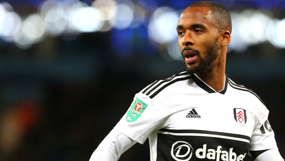 MANCHESTER, ENGLAND - NOVEMBER 01: Denis Odoi of Fulham FC in action during the Carabao Cup Fourth Round match between Manchester City and Fulham at Etihad Stadium on November 1, 2018 in Manchester, England. (Photo by Chloe Knott - Danehouse/Getty Images)