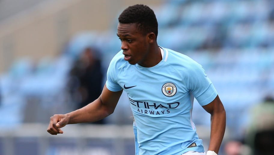Schalke strike terms with Man City winger Rabbi Matondo