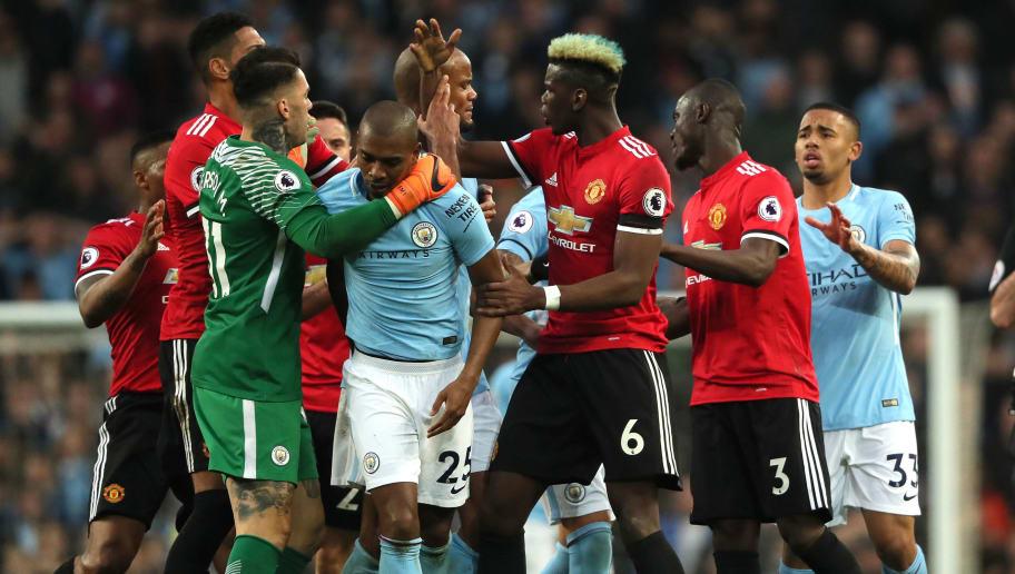 Resultado de imagen para manchester city vs manchester united