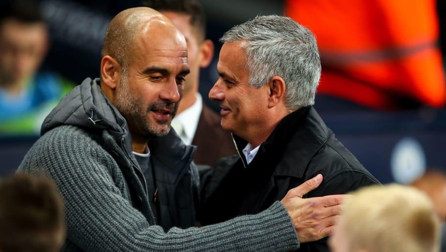 Pep Guardiola,Jose Mourinho