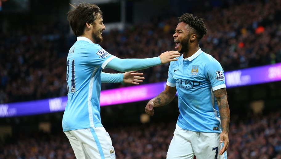 David Silva,Raheem Sterling