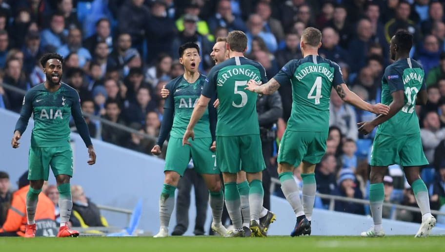Twitter Reacts As Tottenham Edge Past Manchester City On Away Goals In Champions League Classic min