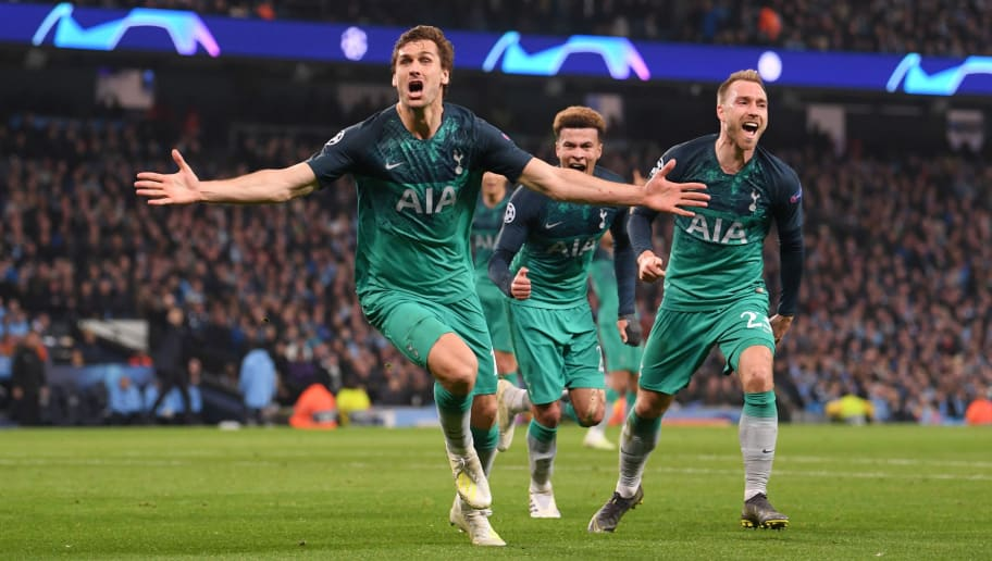 Image result for spurs city champions league