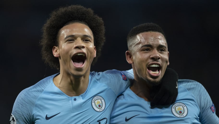 Image result for sane and jesus man city