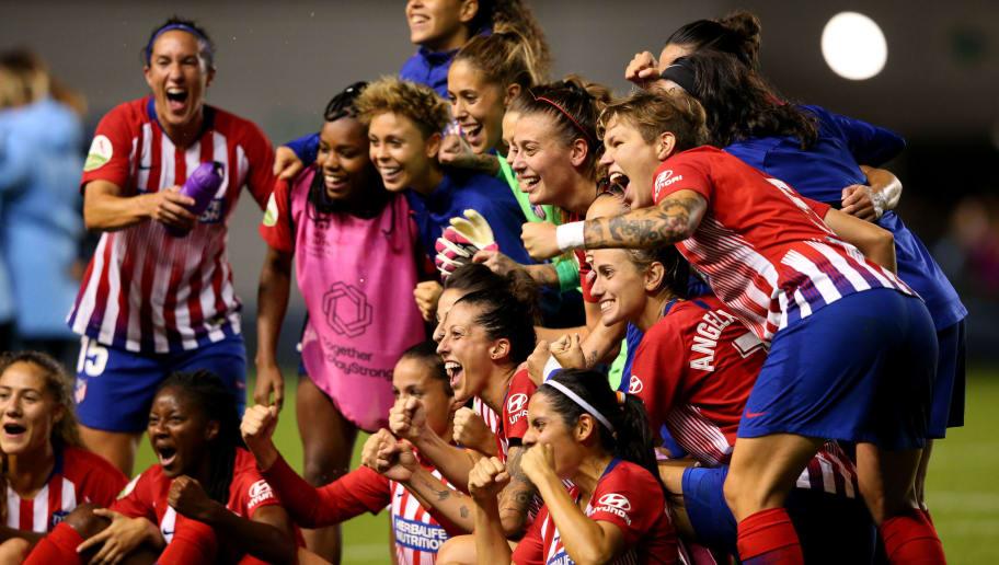 Manchester City Women v Atletico Madrid Femenino: Womens UEFA Champions League 2nd Leg