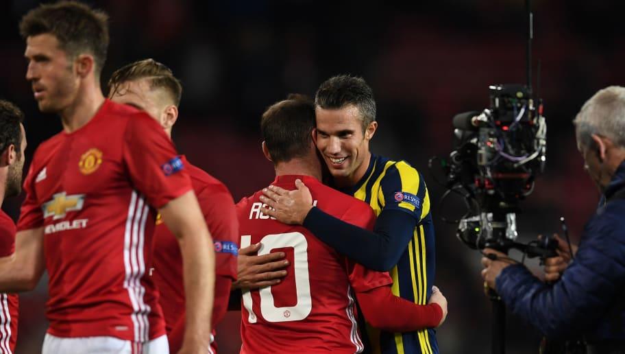 Wayne Rooney,Robin van Persie