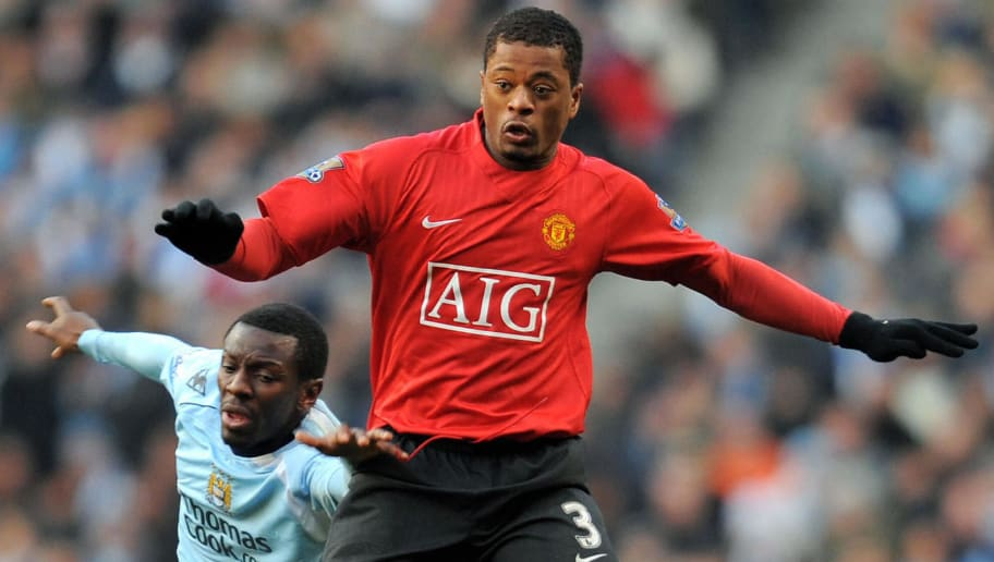 Manchester United's French defender Patr