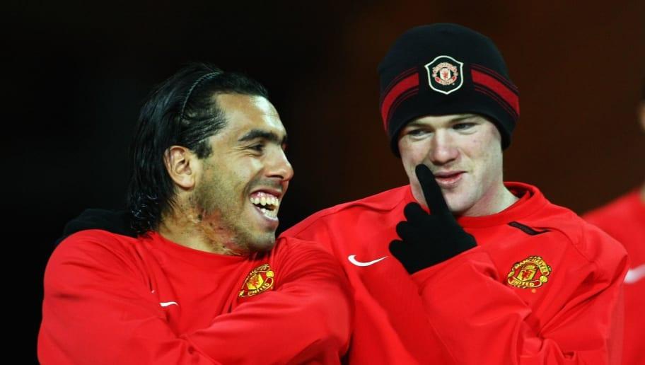 Wayne Rooney,Carlos Tevez