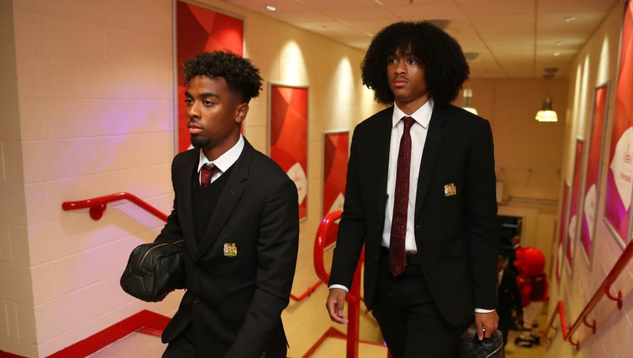 Man Utd Could Let Trio Angel Gomes, Tahith Chong & James Garner Leave on Loan in January