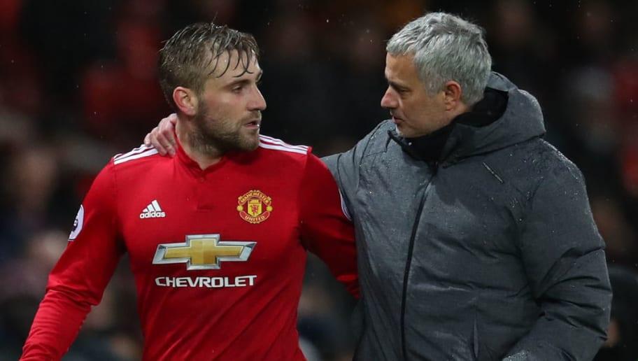 Luke Shaw,Jose Mourinho