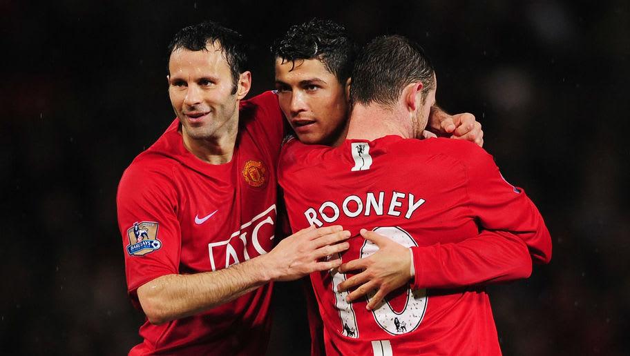 Wayne Rooney,Ryan Giggs,Cristiano Ronaldo