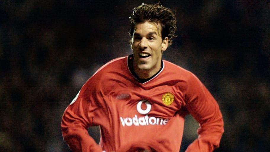 Manchester United v Boavista UEFA Champions League 2001