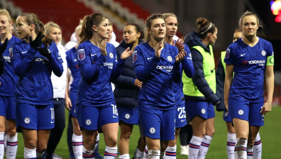 Manchester United v Chelsea FC - FA Women's Continental League Cup: Semi-Final