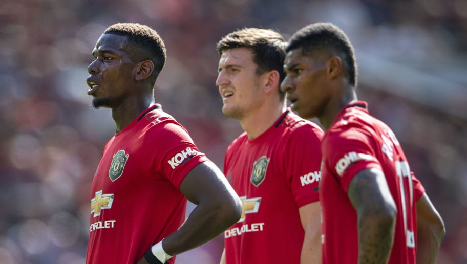 Paul Pogba,Harry Maguire,Marcus Rashford