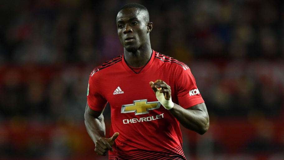 MANCHESTER, ENGLAND - SEPTEMBER 25:  Eric Bailly of Manchester United during the Carabao Cup Third Round match between Manchester United and Derby County at Old Trafford on September 25, 2018 in Manchester, England.  (Photo by Gareth Copley/Getty Images)