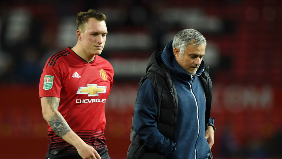 Phil Jones,Jose Mourinho
