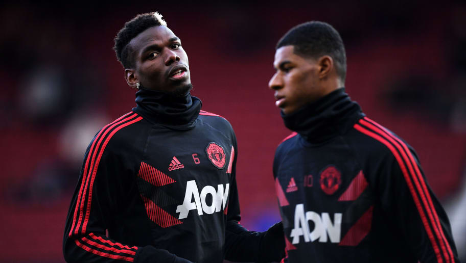 Marcus Rashford,Paul Pogba