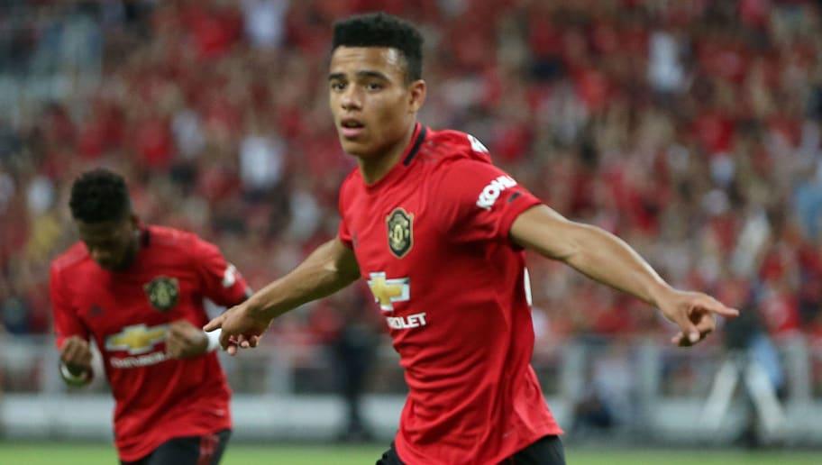 Man Utd Set To Hand 17 Year Old Starlet Mason Greenwood Bumper New Contract 90min