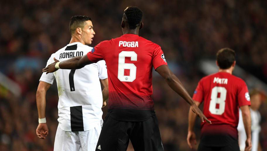Paul Pogba,Cristiano Ronaldo