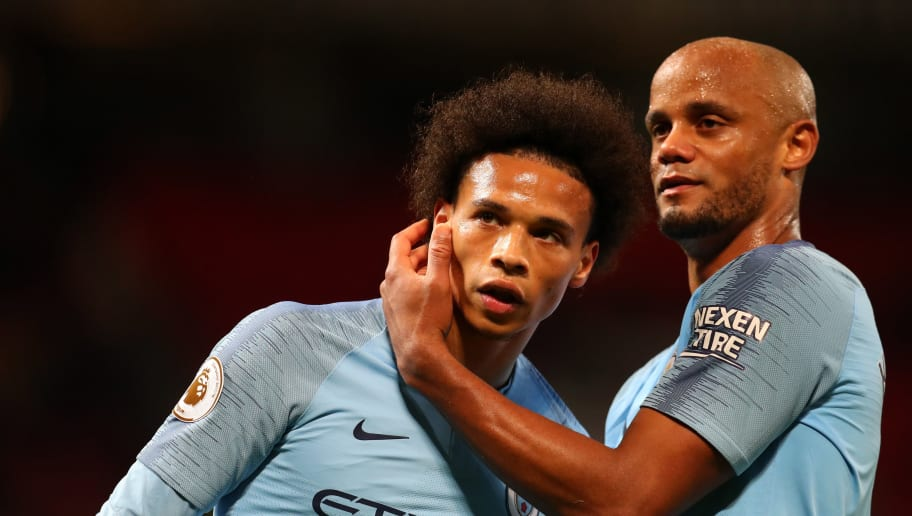 ​Vincent Kompany Jokingly Says That he Wanted to Put Leroy Sane on Gary Neville in Testimonial Game