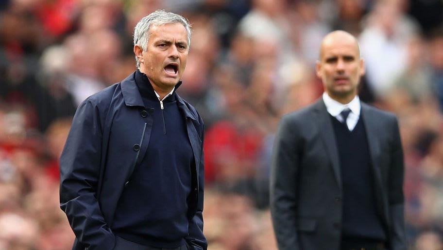 Jose Mourinho,Pep Guardiola