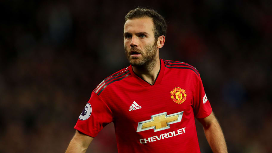 MANCHESTER, ENGLAND - OCTOBER 06: Juan Mata of Manchester United  during the Premier League match between Manchester United and Newcastle United at Old Trafford on October 6, 2018 in Manchester, United Kingdom. (Photo by Robbie Jay Barratt - AMA/Getty Images)