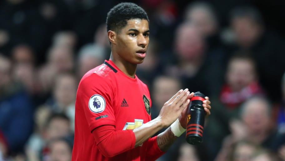 Manchester United : Marcus Rashford forfait contre Liverpool