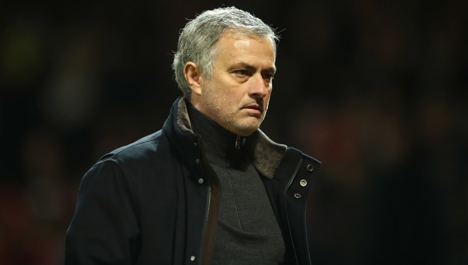 MANCHESTER, ENGLAND - MARCH 13:  Jose Mourinho, Manager of Manchester United looks dejected in defeat after the UEFA Champions League Round of 16 Second Leg match between Manchester United and Sevilla FC at Old Trafford on March 13, 2018 in Manchester, United Kingdom.  (Photo by Clive Mason/Getty Images)
