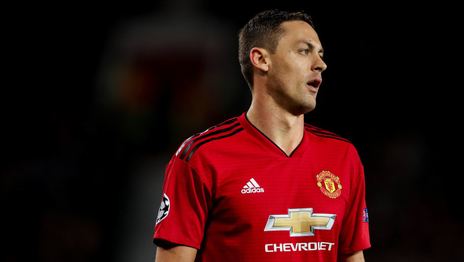 MANCHESTER, ENGLAND - OCTOBER 02: Nemanja Matic of Manchester United during the Group H match of the UEFA Champions League between Manchester United and Valencia at Old Trafford on October 2, 2018 in Manchester, United Kingdom. (Photo by Matthew Ashton - AMA/Getty Images)