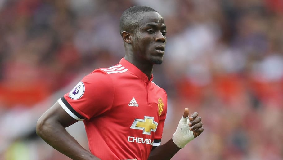 MANCHESTER, ENGLAND - AUGUST 13:  Eric Bailly of Manchester United looks on during the Premier League match between Manchester United and West Ham United at Old Trafford on August 13, 2017 in Manchester, England.  (Photo by Michael Regan/Getty Images)