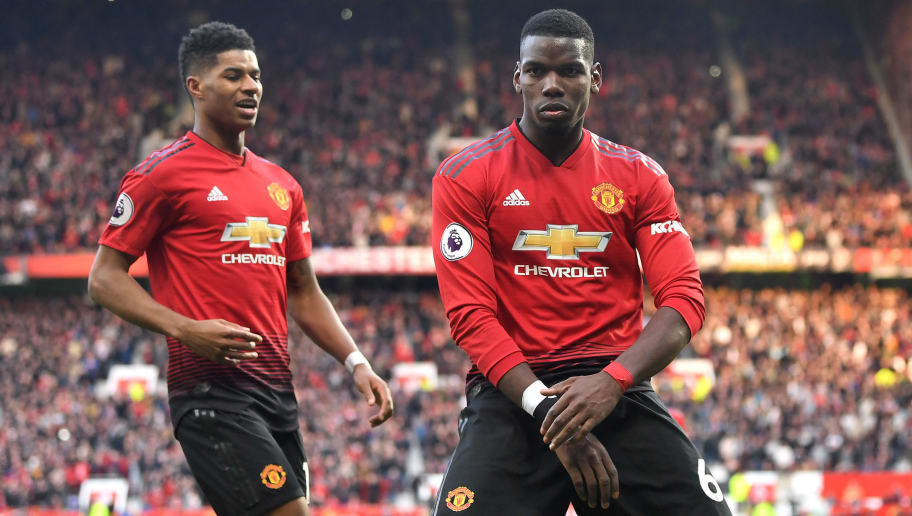 Paul Pogba, Marcus Rashford