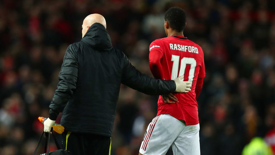 Marcus Rashford Reassures Man Utd Fans He Will Be Back From Injury In A Blink 90min