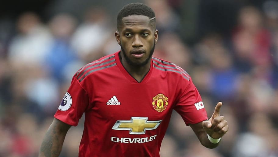 MANCHESTER, ENGLAND - SEPTEMBER 22: Fred of Manchester United during the Premier League match between Manchester United and Wolverhampton Wanderers at Old Trafford on September 22, 2018 in Manchester, United Kingdom. (Photo by James Baylis - AMA/Getty Images)