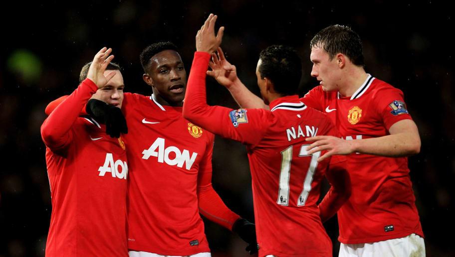 Wayne Rooney,Danny Welbeck,Nani,Phil Jones