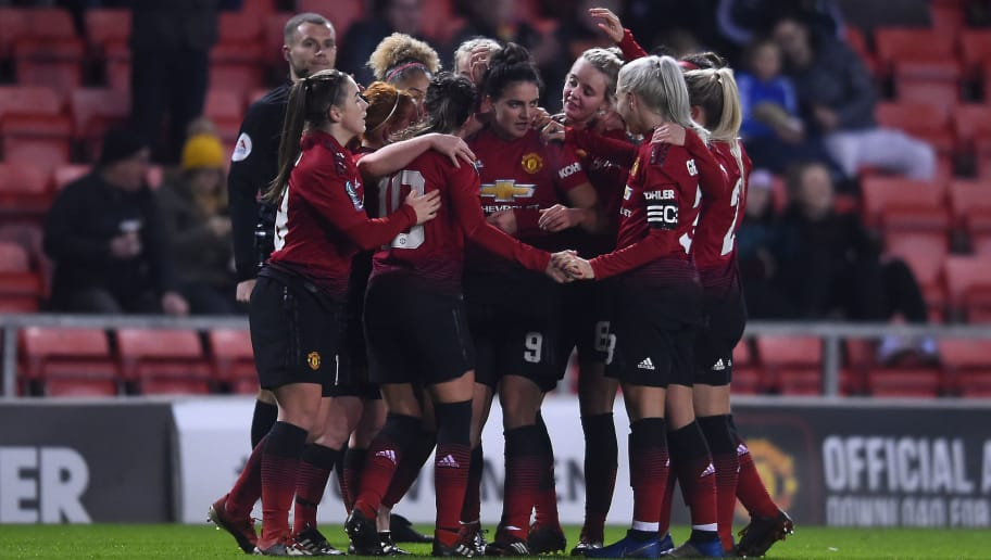 Manchester United Women v West Ham United Women: FA WSL Cup
