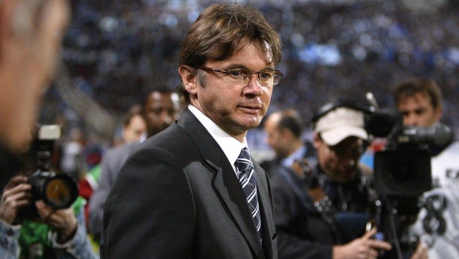 Marseille's coach Philippe Troussier dis
