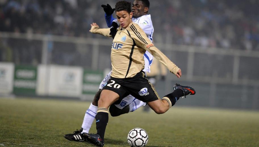 Marseille's French midfielder Hatem Ben