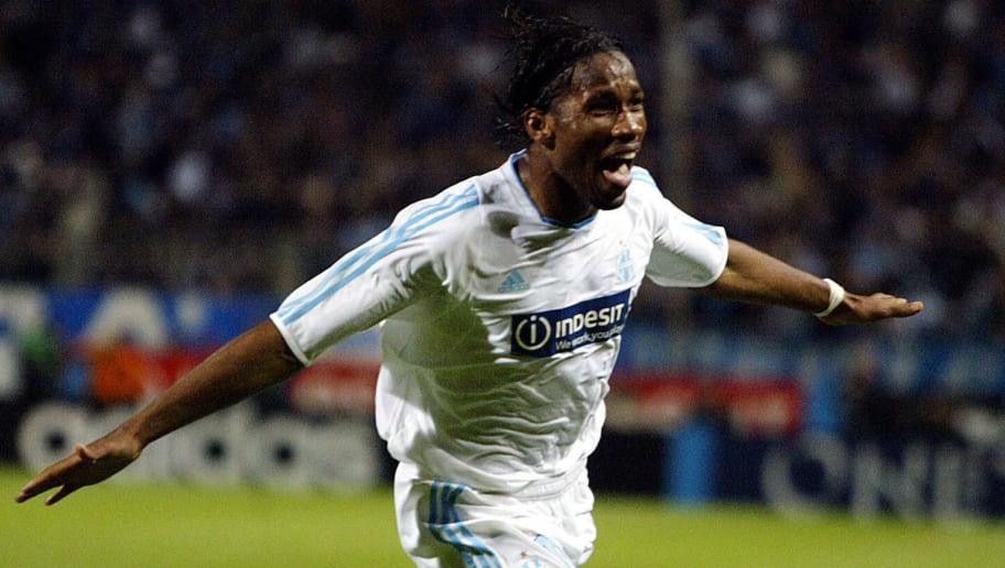 Marseille's Ivorian forward Didier Drogb