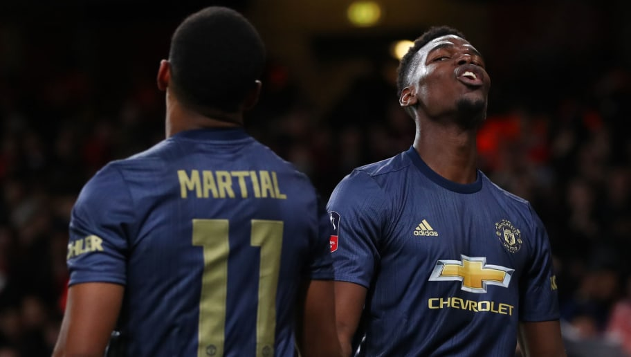 Anthony Martial,Paul Pogba