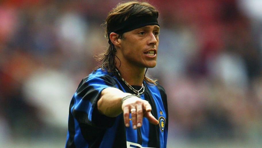 Matias Almeyda of Inter Milan