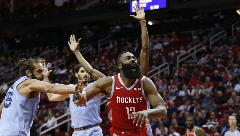 7e9f732df626 VIDEO  Watch James Harden Drop an Unreal 57 Points Against Grizzlies and  Break Kobe Bryant s Record