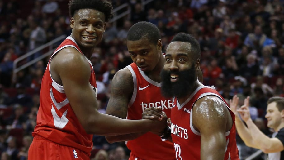 9e4da0a49eac James Harden s Historic Stats Hurt the Fantasy Stock of His Rockets  Teammates