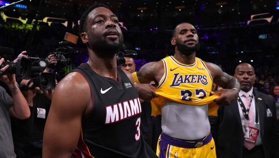 2a639b21b Dwyane Wade Says He Knew LeBron James Would Leave Cleveland for LA ...